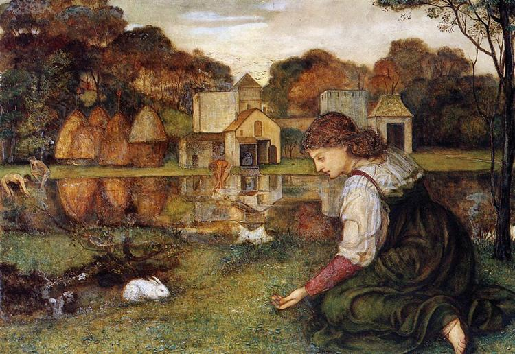 The White Rabbit - John Roddam Spencer Stanhope