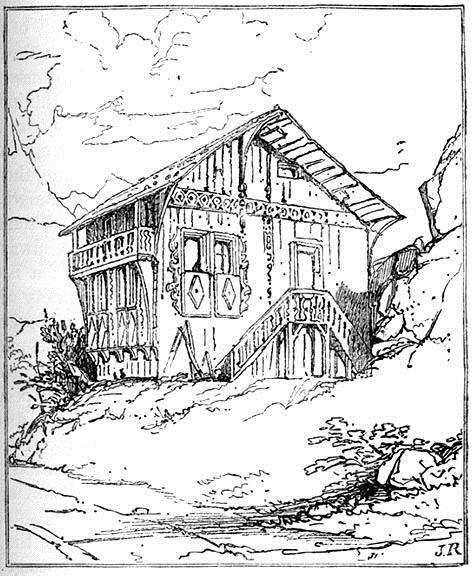 Cottage near Altdorf, 1835 - John Ruskin