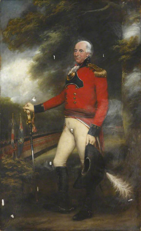 Lieutenant Colonel Thomas Lloyd (1751–1828), Colonel of the Leeds Volunteers, 1801