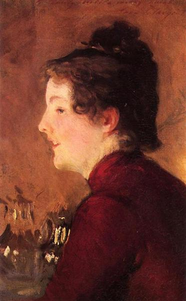 A Portrait of Violet, 1889 - Джон Сінгер Сарджент