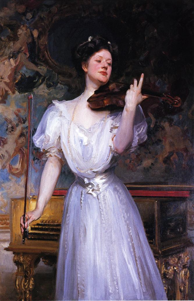 Lady Speyer (Leonora Von Stosch), 1907 - John Singer ...