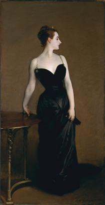 Madame X (also known as Madame Pierre Gautreau) - John Singer Sargent
