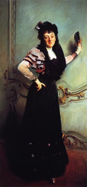 Mrs. Walter Bacon (Virginia Purdy Barker), 1896 - John Singer Sargent