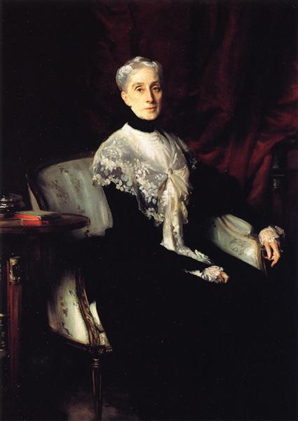 Mrs. William Crowninshield Endicott, c.1901 - Джон Сінгер Сарджент
