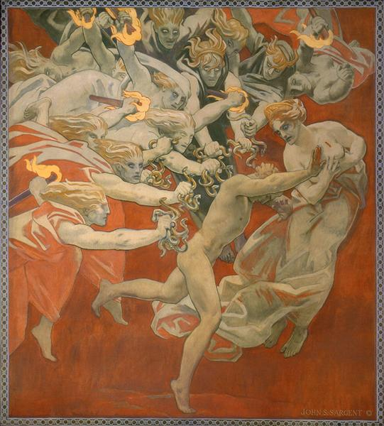 Orestes Pursued by the Furies, 1921 - John Singer Sargent