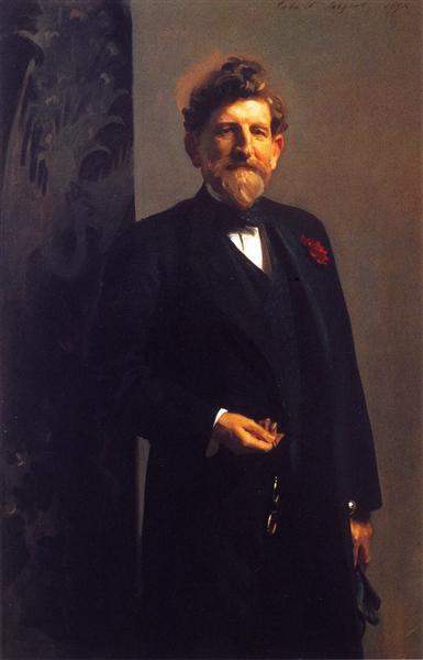 Senator Calvin Brice, 1898 - John Singer Sargent