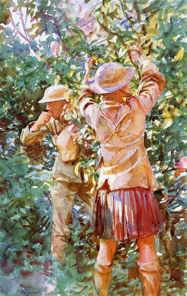 Thou shalt not steal, 1918 - John Singer Sargent