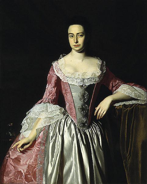 Eunice Dennie Burr, 1758 - 1760 - John Singleton Copley