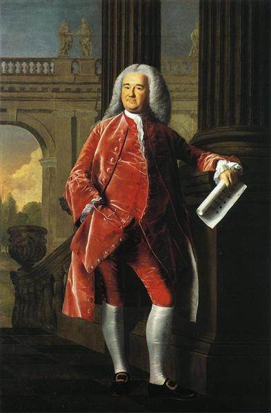 Nathaniel Sparhawk, 1764 - John Singleton Copley