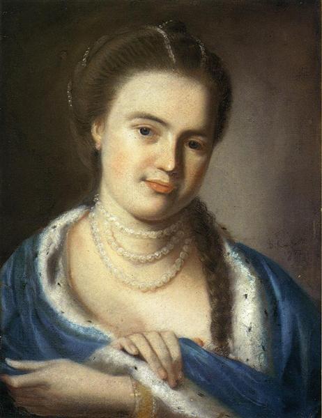 Portrait of Mrs.Gawen Brown, 1763 - John Singleton Copley