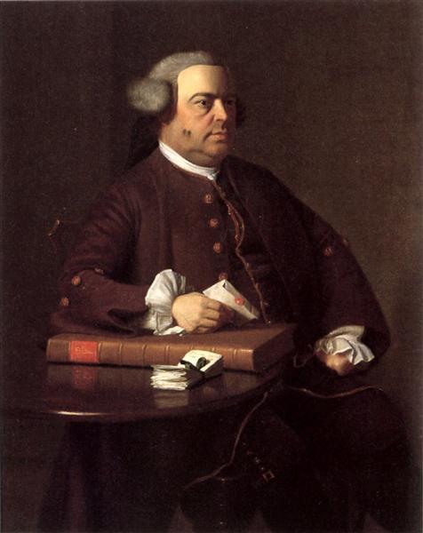 Portrait of Nathaniel Allen, 1763 - John Singleton Copley