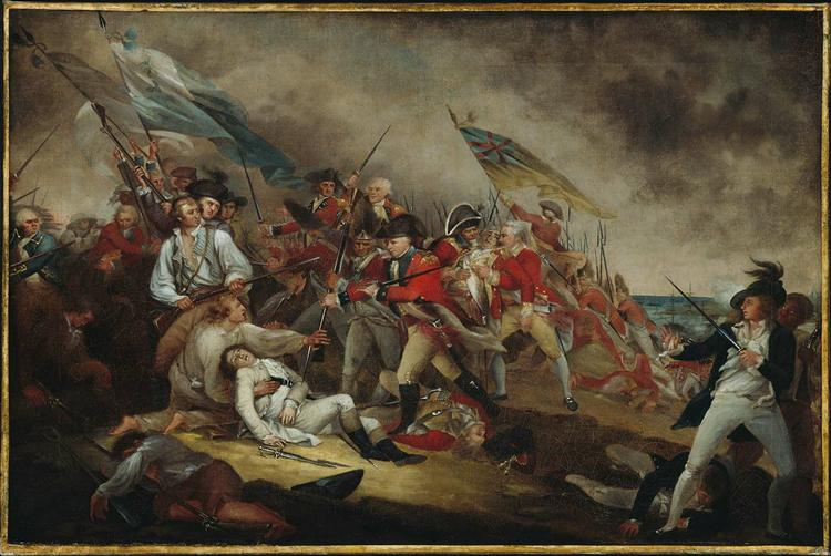 The Death of General Warren at the Battle of Bunker's Hill, June 17, 1775, 1786 - John Trumbull