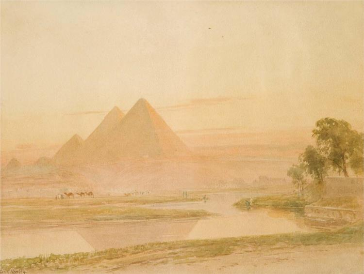 The Pyramids in Gizeh - John Varley II