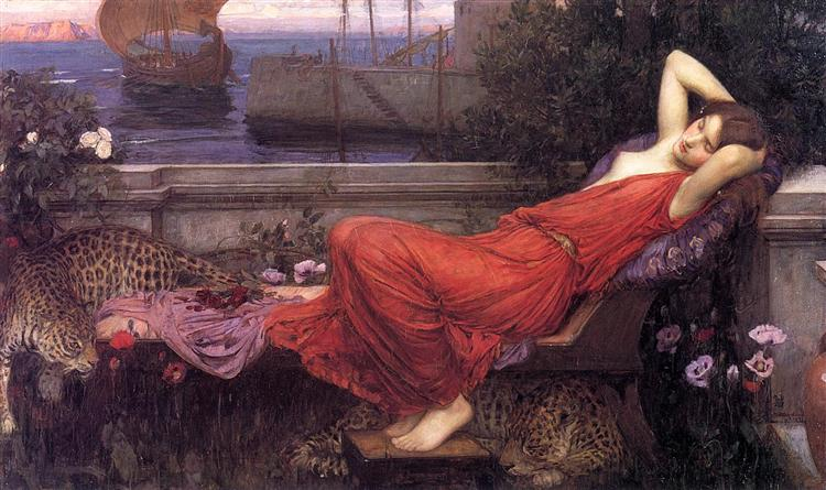 Ariadne, 1898 - John William Waterhouse