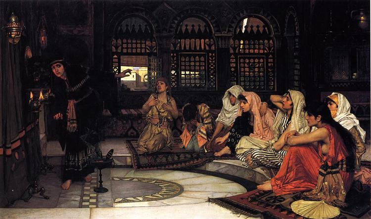 Consulting the Oracle, c.1884 - John William Waterhouse