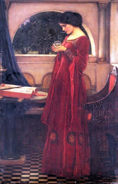 Crystal Ball, 1902 - John William Waterhouse
