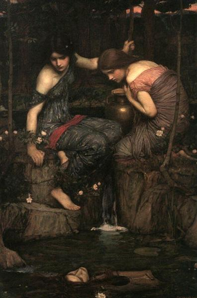 Nymphs Finding the Head of Orpheus, 1900 - John William Waterhouse