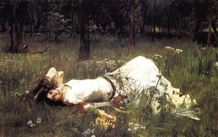 Ophelia, 1889 - John William Waterhouse