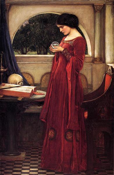 The Crystal Ball, 1902 - John William Waterhouse