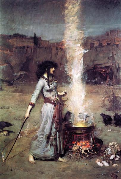 The Magic Circle, 1886 - John William Waterhouse