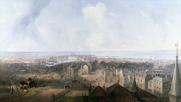 West Hartlepool in the year, 1859 - John Wilson Carmichael