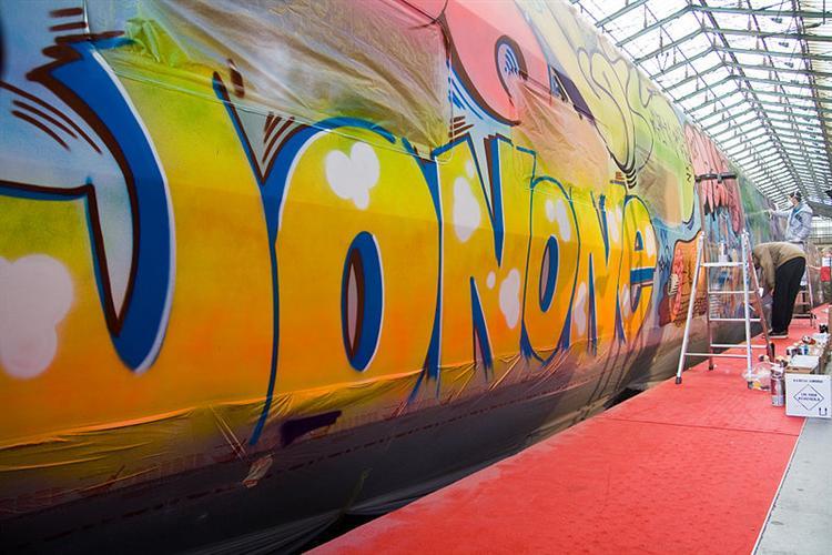 Thalys, 2009 - JonOne