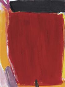 Negro con rojo - Хосе Герреро