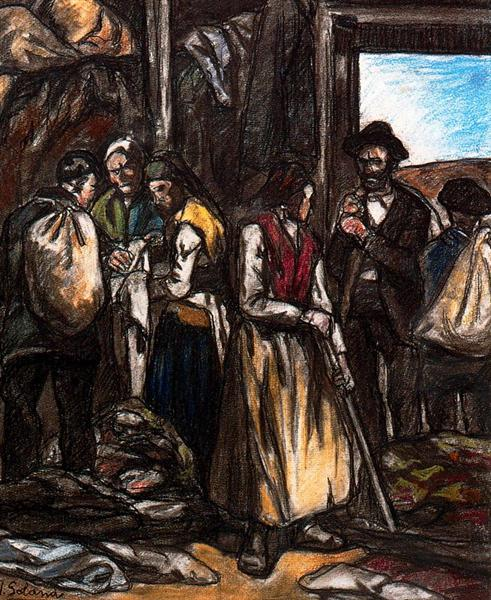 The Scavengers, 1926 - Jose Gutierrez Solana