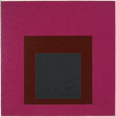 Homage to the Square: Guarded, 1952 - Josef Albers