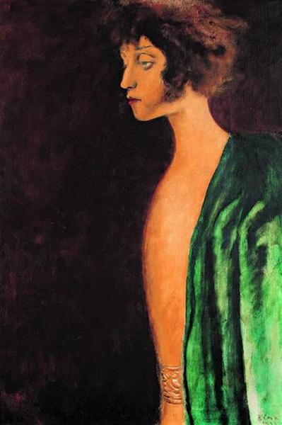 Portrét Zuzky Zgurišky, 1933 - Йозеф Шима