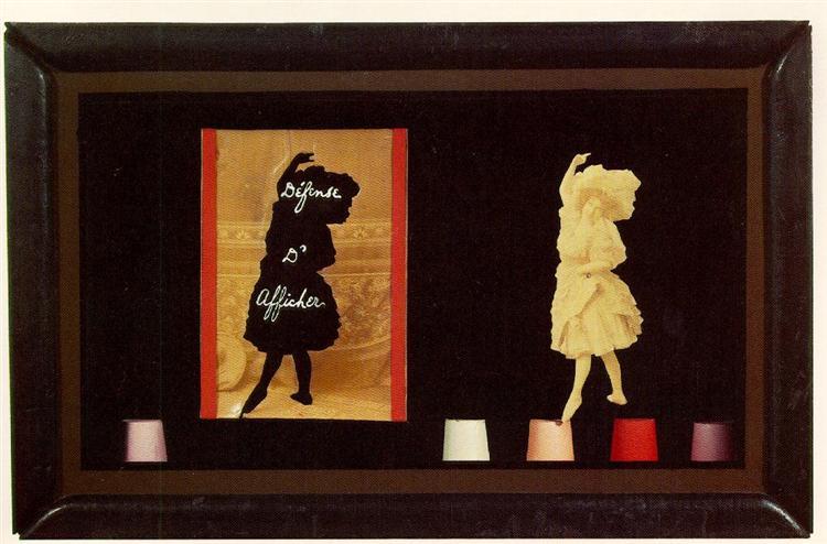 Defense d'Afficher Object, 1939 - Joseph Cornell