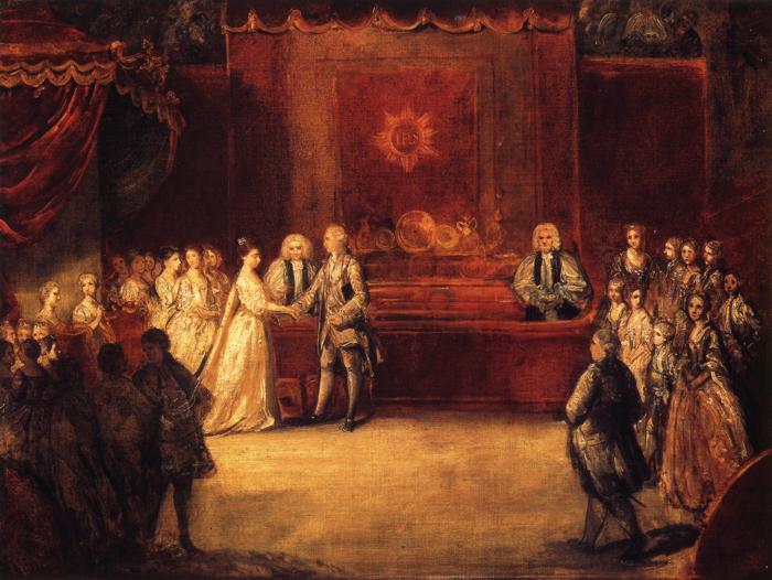 George III, 1761 - Джошуа Рейнольдс