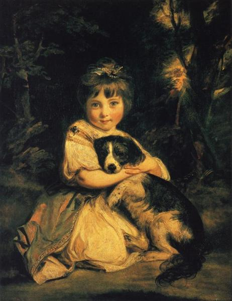 Miss Bowles, 1775 - Joshua Reynolds