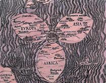 Knowledge #49: The World, 1581 - Joyce Kozloff