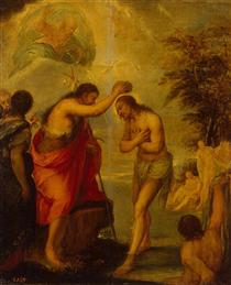 Baptism of Christ - Juan Carreno de Miranda