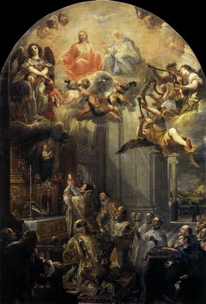 Mass of St John of Mathaa, 1666 - Juan Carreno de Miranda