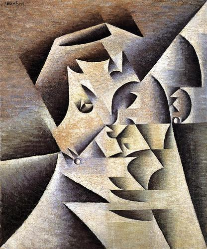 Portrait of the Artist s Mother - Juan Gris