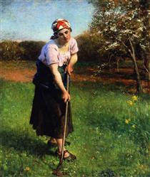 Springtime - Jules Breton