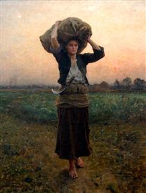 The Shepherd's Star - Jules Breton