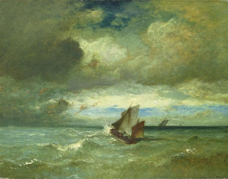 Choppy Sea, 1870 - Jules Dupré