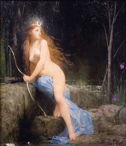 Diana - Jules Joseph Lefebvre