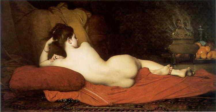 Odalisque, 1874 - Jules Joseph Lefebvre