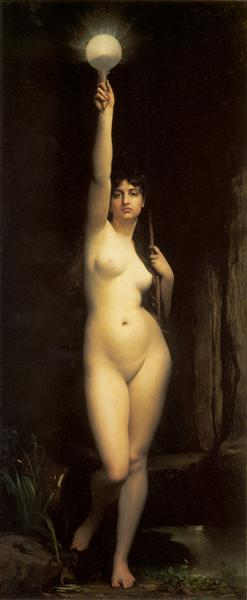 The Truth, 1870 - Jules Joseph Lefebvre