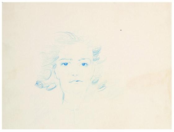 Portrait of Hedda Stern - Jules Perahim