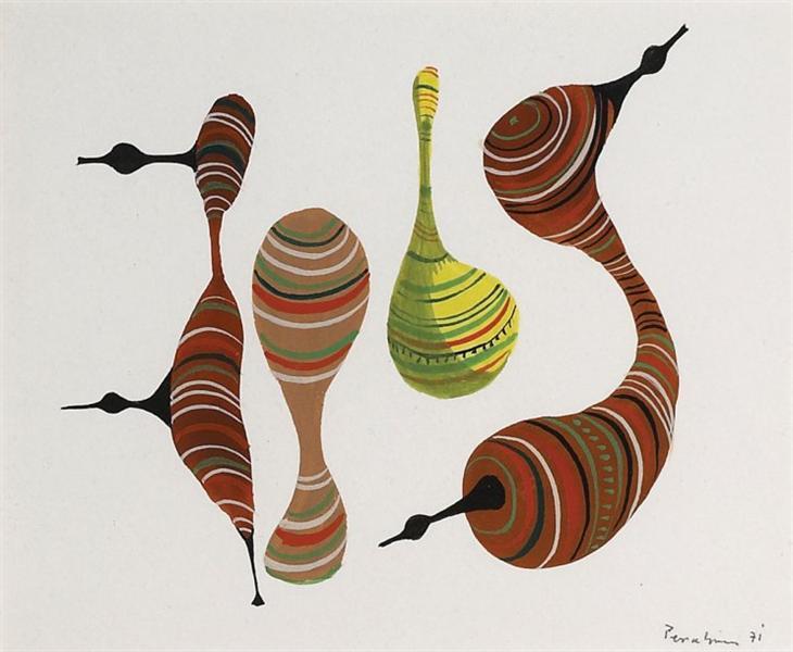 Untitled, 1971 - Жюль Перахім