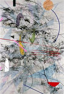 Easy Dark - Julie Mehretu