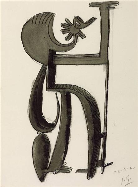 Architectural Figure No. 2, 1940 - Julio Gonzalez