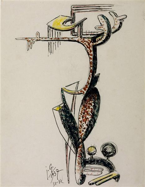 Fantastic Figure, 1937 - Julio Gonzalez