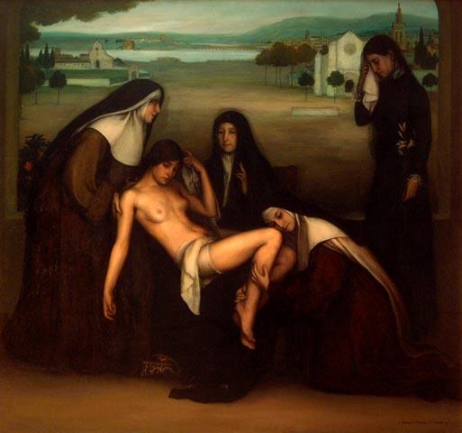 La gracia, 1915 - Julio Romero de Torres