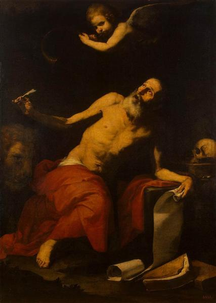St. Jerome Hears the Last Trumpet, 1626 - Jusepe de Ribera
